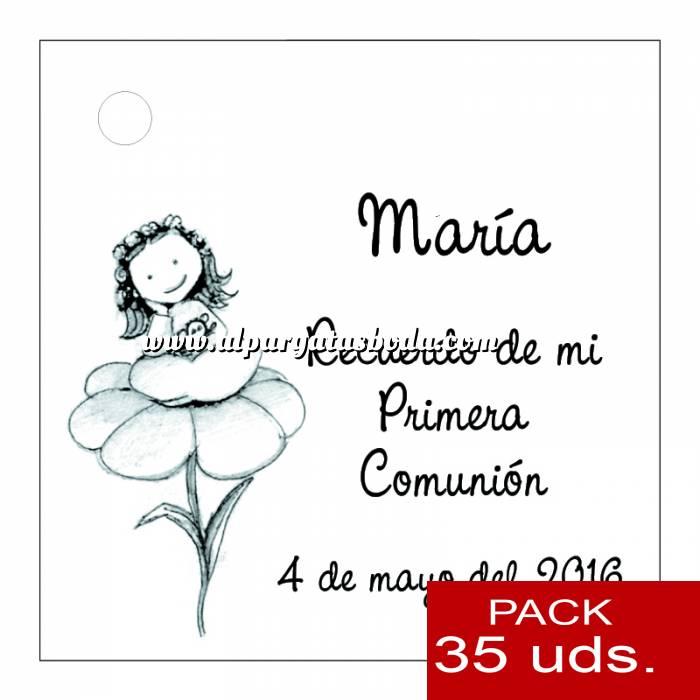 Imagen Etiquetas personalizadas Etiqueta Modelo A24 (Paquete de 35 etiquetas 4x4)