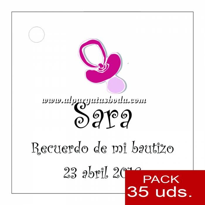 Imagen Etiquetas personalizadas Etiqueta Modelo B05 (Paquete de 35 etiquetas 4x4)