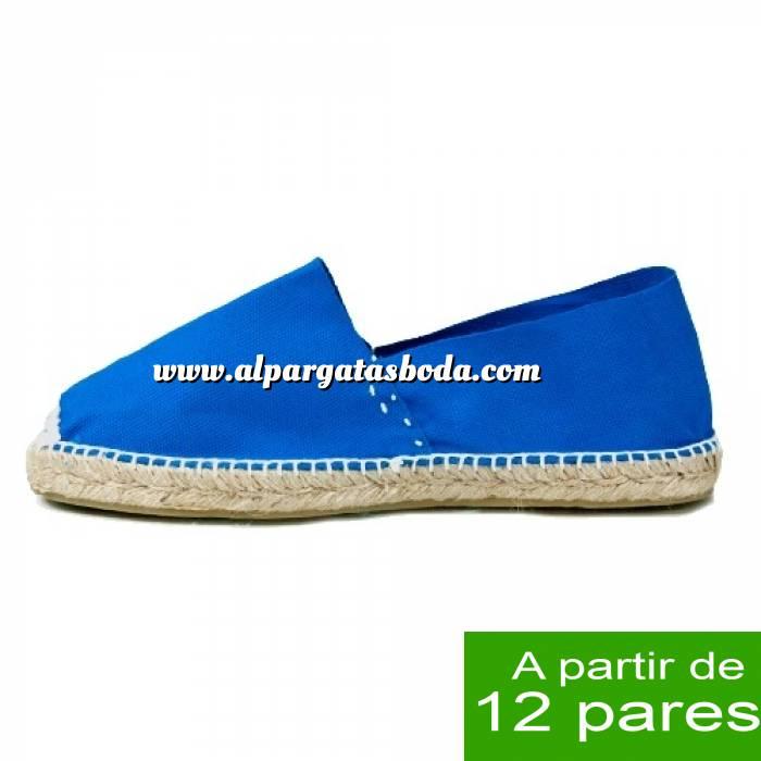 Imagen Mujer Cerradas Alpargatas Cerradas MUJER color Azul Royal - A partir de 12 pares (Últimas Unidades)