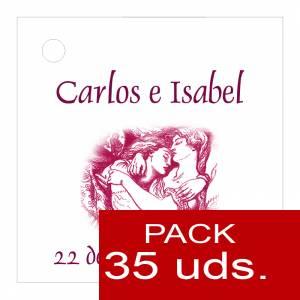 Etiquetas personalizadas - Etiqueta Modelo A09 (Paquete de 35 etiquetas 4x4)