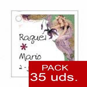 Imagen Etiquetas personalizadas Etiqueta Modelo A10 (Paquete de 35 etiquetas 4x4)