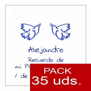 Etiquetas personalizadas - Etiqueta Modelo A21 (Paquete de 35 etiquetas 4x4)