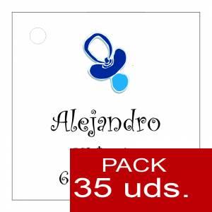 Etiquetas personalizadas - Etiqueta Modelo B06 (Paquete de 35 etiquetas 4x4)