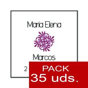 Imagen Etiquetas personalizadas Etiqueta Modelo B09 (Paquete de 35 etiquetas 4x4)