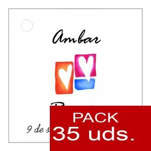 Etiquetas personalizadas - Etiqueta Modelo B10 (Paquete de 35 etiquetas 4x4)