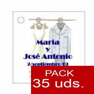 Imagen Etiquetas personalizadas Etiqueta Modelo B11 (Paquete de 35 etiquetas 4x4)