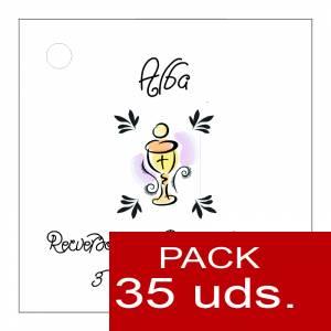 Etiquetas personalizadas - Etiqueta Modelo B18 (Paquete de 35 etiquetas 4x4)