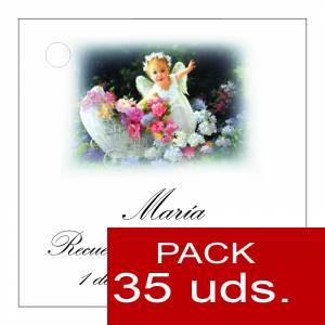 Etiquetas personalizadas - Etiqueta Modelo B25 (Paquete de 35 etiquetas 4x4)
