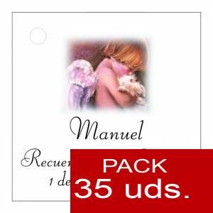 Etiquetas personalizadas - Etiqueta Modelo B26 (Paquete de 35 etiquetas 4x4)