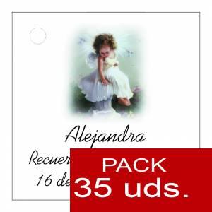 Etiquetas personalizadas - Etiqueta Modelo B28 (Paquete de 35 etiquetas 4x4)