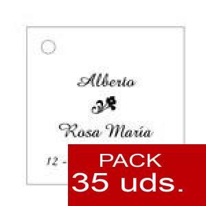 Imagen Etiquetas personalizadas Etiqueta Modelo C03 (Paquete de 35 etiquetas 4x4)