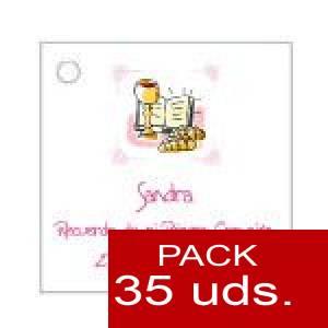 Imagen Etiquetas personalizadas Etiqueta Modelo C17 (Paquete de 35 etiquetas 4x4)