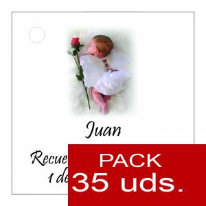 Etiquetas personalizadas - Etiqueta Modelo C25 (Paquete de 35 etiquetas 4x4)