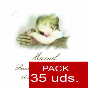 Etiquetas personalizadas - Etiqueta Modelo C26 (Paquete de 35 etiquetas 4x4)