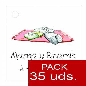 Etiquetas personalizadas - Etiqueta Modelo D05 (Paquete de 35 etiquetas 4x4)