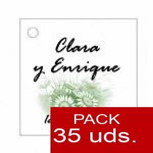 Imagen Etiquetas personalizadas Etiqueta Modelo D10 (Paquete de 35 etiquetas 4x4)