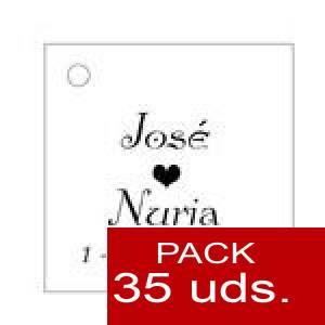 Imagen Etiquetas personalizadas Etiqueta Modelo E02 (Paquete de 35 etiquetas 4x4)