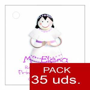 Etiquetas personalizadas - Etiqueta Modelo E13 (Paquete de 35 etiquetas 4x4)