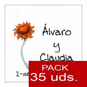 Etiquetas personalizadas - Etiqueta Modelo F06 (Paquete de 35 etiquetas 4x4)