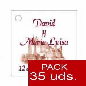Imagen Etiquetas personalizadas Etiqueta Modelo F09 (Paquete de 35 etiquetas 4x4)