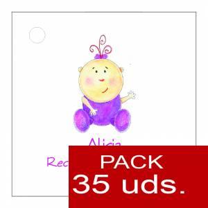 Etiquetas personalizadas - Etiqueta Modelo F15 (Paquete de 35 etiquetas 4x4)