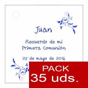 Etiquetas personalizadas - Etiqueta Modelo F18 (Paquete de 35 etiquetas 4x4)