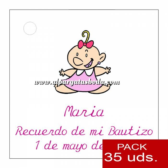 Imagen Etiquetas impresas Etiqueta Modelo B24 (Paquete de 35 etiquetas 4x4)