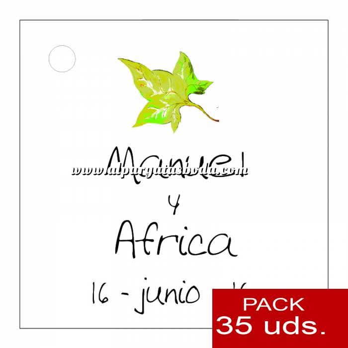 Imagen Etiquetas impresas Etiqueta Modelo C07 (Paquete de 35 etiquetas 4x4)