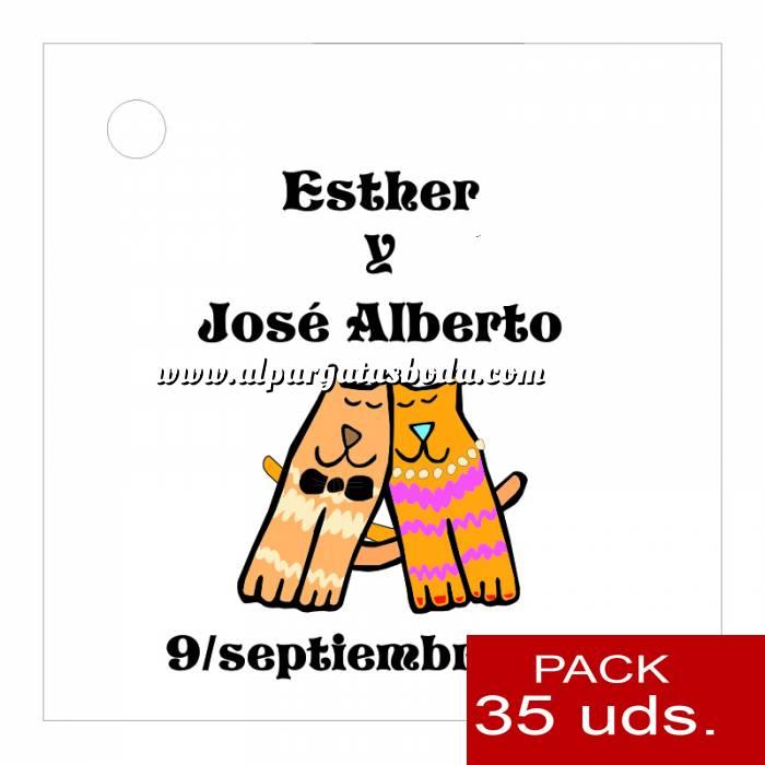 Imagen Etiquetas impresas Etiqueta Modelo C13 (Paquete de 35 etiquetas 4x4)
