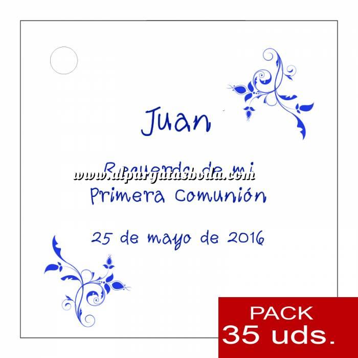 Imagen Etiquetas impresas Etiqueta Modelo F18 (Paquete de 35 etiquetas 4x4)