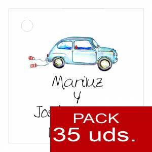 Etiquetas impresas - Etiqueta Modelo A07 (Paquete de 35 etiquetas 4x4)