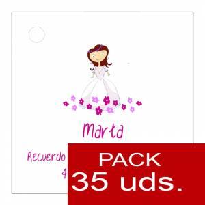 Etiquetas impresas - Etiqueta Modelo A22 (Paquete de 35 etiquetas 4x4)