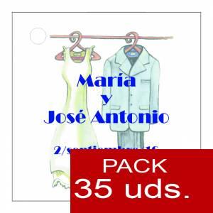Etiquetas impresas - Etiqueta Modelo B11 (Paquete de 35 etiquetas 4x4)