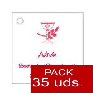 Imagen Etiquetas impresas Etiqueta Modelo B17 (Paquete de 35 etiquetas 4x4)