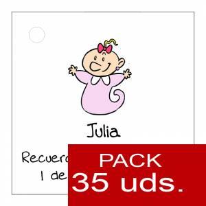 Etiquetas impresas - Etiqueta Modelo B22 (Paquete de 35 etiquetas 4x4)