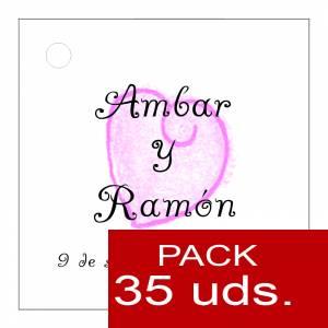 Etiquetas impresas - Etiqueta Modelo C09 (Paquete de 35 etiquetas 4x4)