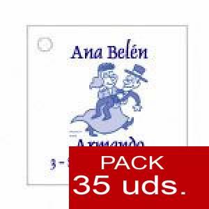 Imagen Etiquetas impresas Etiqueta Modelo C10 (Paquete de 35 etiquetas 4x4)