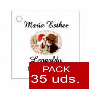 Imagen Etiquetas impresas Etiqueta Modelo C12 (Paquete de 35 etiquetas 4x4)