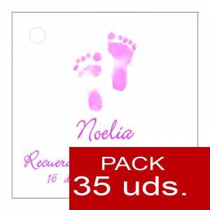 Etiquetas impresas - Etiqueta Modelo C24 (Paquete de 35 etiquetas 4x4)