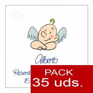 Etiquetas impresas - Etiqueta Modelo D20 (Paquete de 35 etiquetas 4x4)