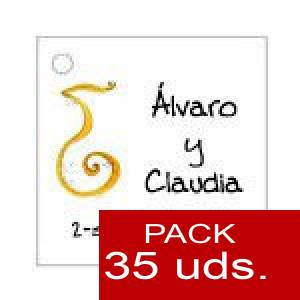 Imagen Etiquetas impresas Etiqueta Modelo F05 (Paquete de 35 etiquetas 4x4)