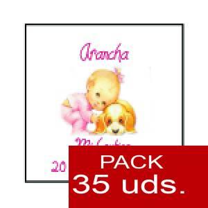 Imagen Etiquetas impresas Etiqueta Modelo F23 (Paquete de 35 etiquetas 4x4)