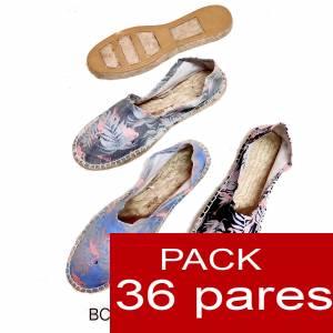 Mujer Estampadas - Alpargata estampada FLAMENCOS ( BC-009 ) Caja 36 pares Oferta verano